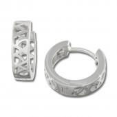 SilberDream Creole Muster Design 925 Sterling Silber Ohrring SDO3325