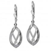 SilberDream Ohrringe Spirale klein 925 Silber Damen Ohrhnger SDO344