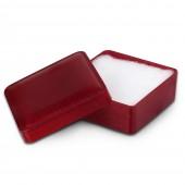 IMPPAC Ring und Schmuck Schachtel rot Etui Verpackung 40x40 VE032