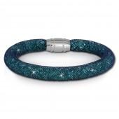 SilberDream Glitzerarmband Minikristalle trkis 18cm Armband Damen SDA050T9