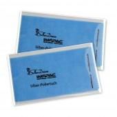 SilberDream Imppac 2Stck Schmuck Reinigungstcher blau Poliertuch ZAP137B2