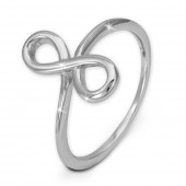SilberDream Ring Unendlichkeit Gr 58 Sterling 925er Silber SDR451J58