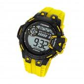 Calypso Herren-Armbanduhr Digital for Man digital Quarz PU gelb UK56961 UK5696/1