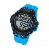 Calypso Herren-Armbanduhr Digital for Man digital Quarz PU hellblau UK56962 UK5696/2