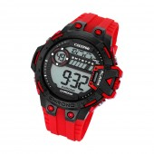 Calypso Herren-Armbanduhr Digital for Man digital Quarz PU rot UK56963 UK5696/3