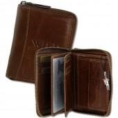 SilberDream Damen Geldbörse Portemonnaie Leder braun Hochformat OPJ108NQ