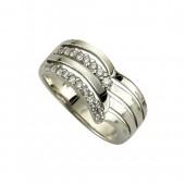 KISMA Schmuck Damen-Ring Gr 58 Sterling Silber 925 KIR0106-007-58